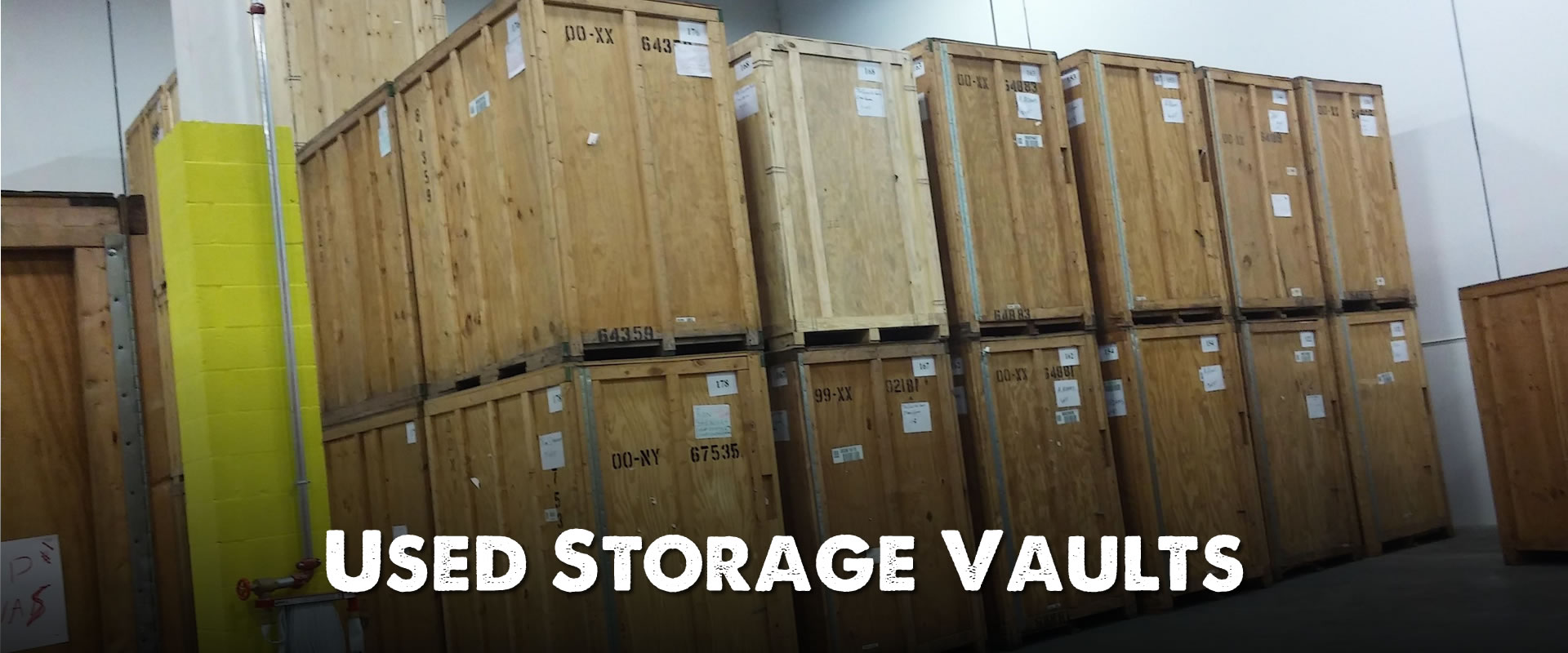 Buy Cheap Wooden Storage Vaults | For Sale