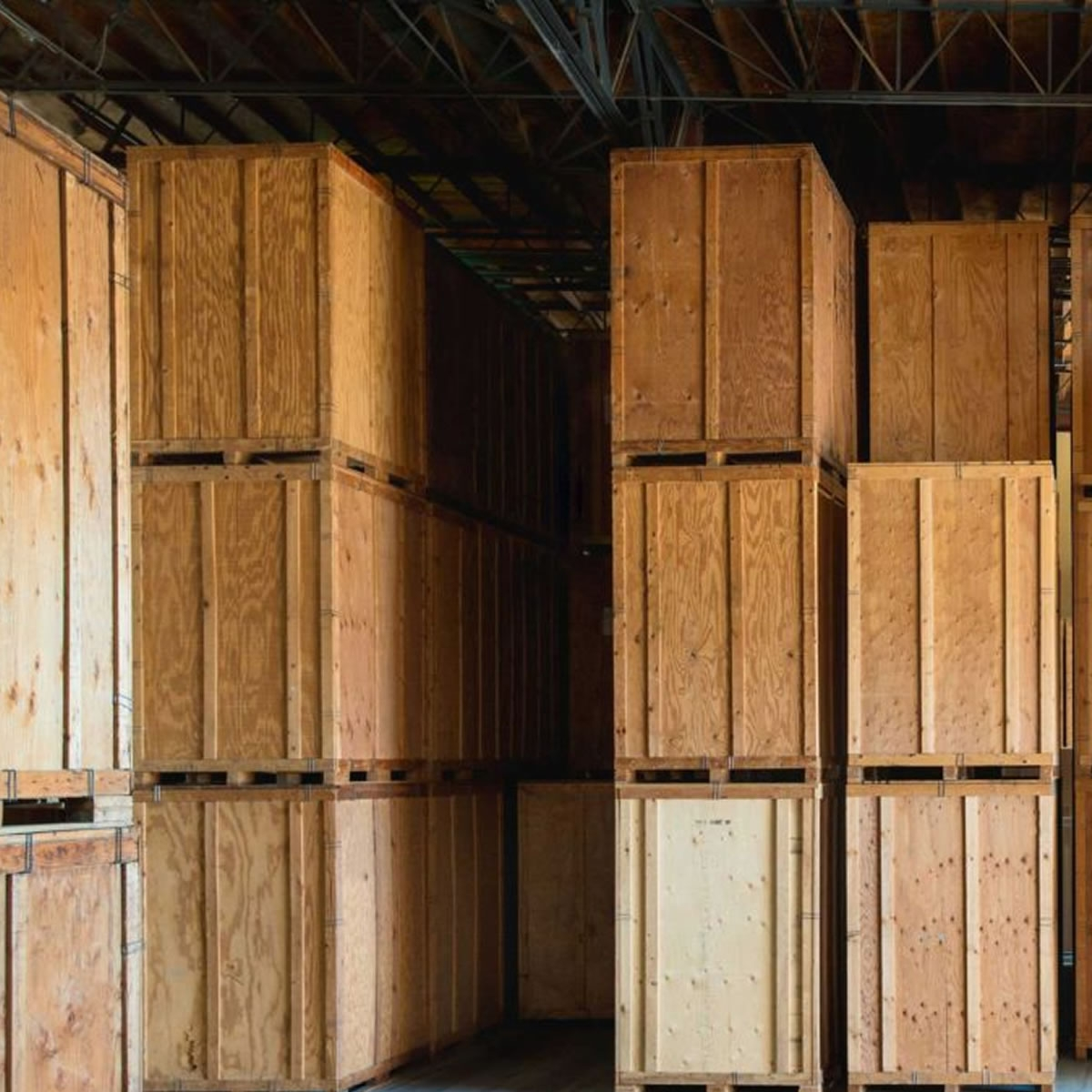 Used Portable Storage Containers | Cheap Wooden Storage Vaults for Sale