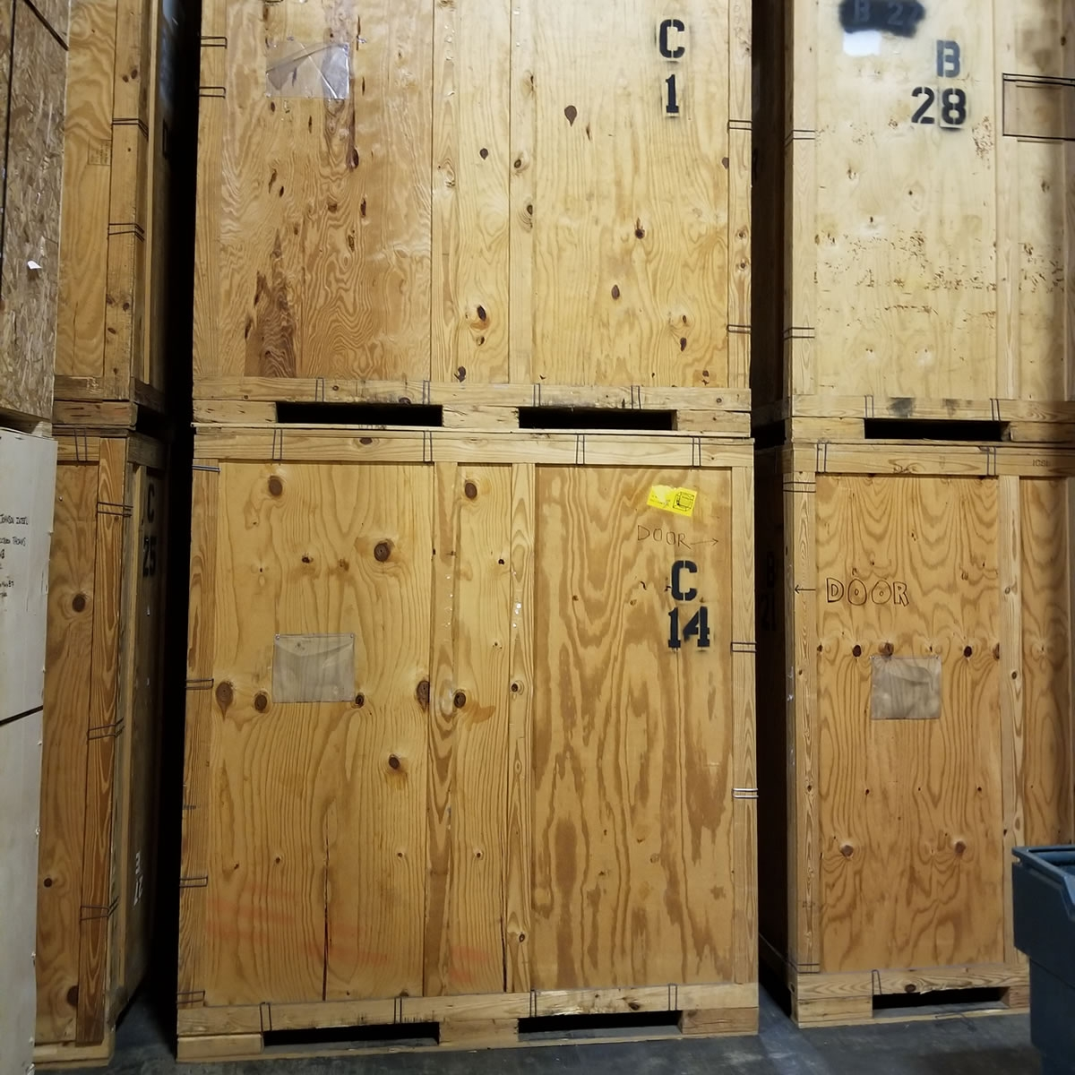 Wooden Storage Vaults | Cheap Portable Storage Containers for Sale
